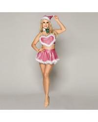 Новогодний эротический костюм Блестящая Шелли
